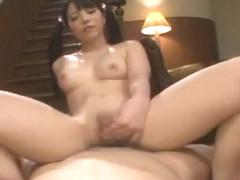 Hottest Japanese model Ai Uehara in Crazy Creampie, Big Tits JAV scene