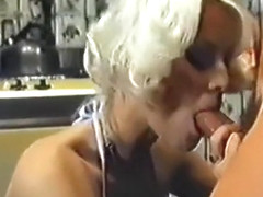 Seka gets cock in the kitchen