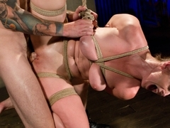 Incredible fetish adult scene with crazy pornstars Christian Wilde and Bella Rossi from Dungeonsex