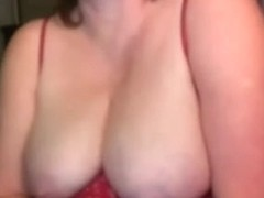 My amateur webcam shows me teasing with big tits