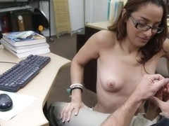 College Student Banged in my pawn shop! - XXXPawn