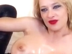 GR Gagging and Squirting on Webcam