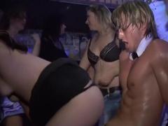 Hottest pornstar in amazing group sex, mature adult clip