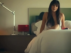 Exotic pornstar Sunny Leone in Horny Big Ass, Masturbation sex movie