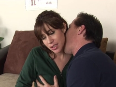 Horny pornstar Sasha Sweet in Fabulous Brunette, Cunnilingus sex video