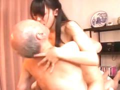 A new college girl for grandpa shigeo