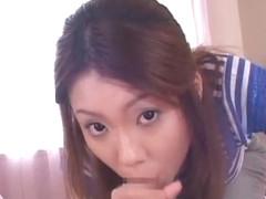 Horny Japanese girl Kaori Manaka in Amazing POV JAV clip