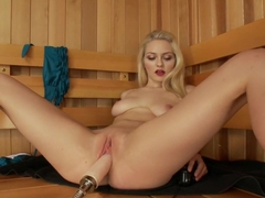 Amazing fetish porn clip with incredible pornstar Alli Rae from Fuckingmachines