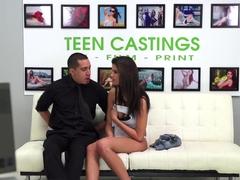 Hottest pornstar Carrie Brooks in Crazy Casting, Fetish sex scene