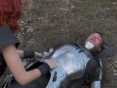 Incredible pornstar Leah Luv in amazing gaping, threesome sex scene
