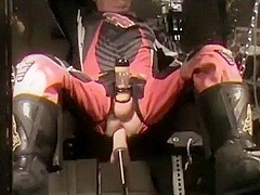 MX geared machine fucked and milked
