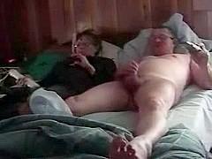 Non-Professional Aged Pair having joy -Lover-