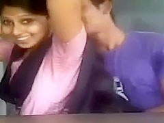 Hot Indian college student romance