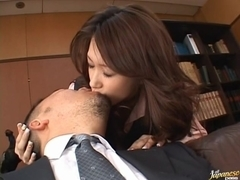 Tight Pussy On Yuria Sendo Milks Him Dry For Her Facial