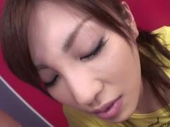 Exotic Japanese girl Kana Miura in Horny JAV uncensored Blowjob clip