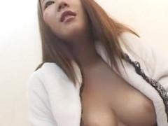 Crazy Japanese chick Maria Yamazaki in Incredible Fetish, Fingering JAV scene