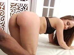 Crazy pornstar Remy LaCroix in Incredible Redhead, Interracial sex scene