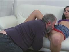 Fabulous pornstar in Crazy Brunette, Oldie xxx video