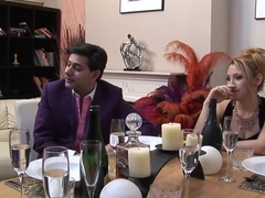 Horny pornstars Chloe Delaure and Carmen Jay in fabulous mature, lingerie porn video