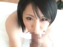 Hottest Japanese chick Mikan Kururugi in Incredible JAV scene