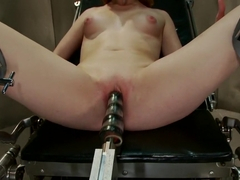 Incredible fetish sex scene with best pornstar Lizzy Rose from Fuckingmachines