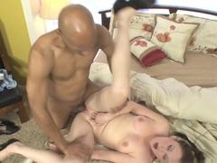 Fabulous pornstars Justin Long, Sindee Jennings in Hottest Interracial, Small Tits sex scene