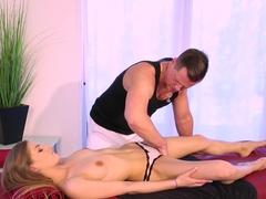 Best pornstar Sydney Cole in Hottest Massage, Blonde sex clip