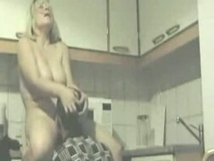 Amateur Video Scene Seniors Have Sex In Kitchen