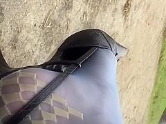 Dangling beautiful louis vuitton slingback
