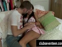 Hot teen Germiona gets fucked and cummed