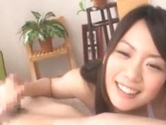 Incredible Japanese slut Ai Hoshimiya in Horny Bikini, Handjobs JAV movie