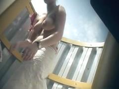 Hidden Camera Video. Dressing Room N 255