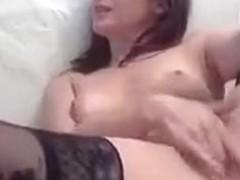 Mature Rusalohkax slaps her pussy
