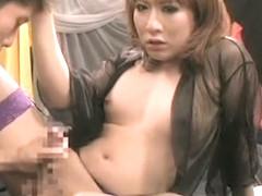 Crazy Japanese girl in Hottest Blowjob, /Futanari JAV video