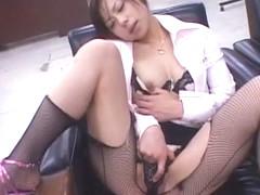 Exotic Japanese slut Mio Amano in Fabulous Threesomes, Dildos/Toys JAV movie