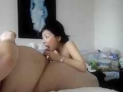 Fat guy fucking her hot Chinese wife