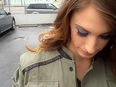 Hot Tgirl Kelly Klaymour french kisses Tinslee and rams her pussy