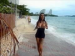 Nicole - Beach Exhibitionist
