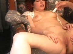 HandsOnOrgasms Video: Audrey Steele Full Body Chair