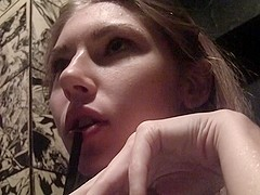 Megan in amazing oral sex in the hot couple sex video