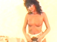Hairy pussies in vintage nylon lingerie