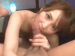 Crazy Japanese model Miku Ohashi in Hottest Facial, POV JAV clip