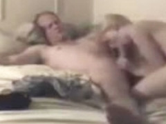 Sweet blonde likes to record her home sex