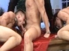 Incredible male pornstar in best bondage, blowjob gay sex video