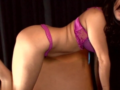 Best pornstar Sunny Leone in Horny Redhead, Lingerie porn video