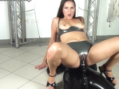 Kristina & Tanja in Latex Slut Used As A Dildo Whore - FunMovies