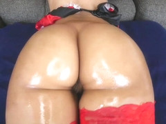 TeenCurves - Worshiping Santa's Big Ass Helper