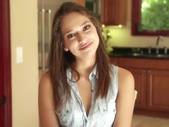 OnlyTeenBj Cute 19 year old girl's first BJ