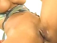 Sweet Blonde Shemale Fucking An Astonishing Latina