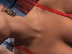 Crazy pornstar Madison James in exotic blonde, big tits adult clip
